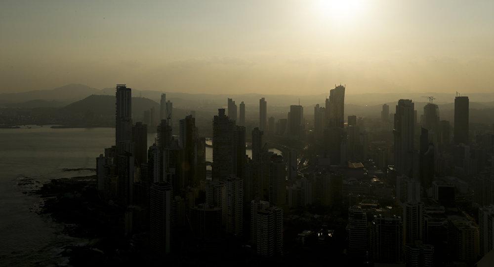 Cidade do Panamá em 4 de abril de 2016, menos de um dia depois de que estourou o escândalo