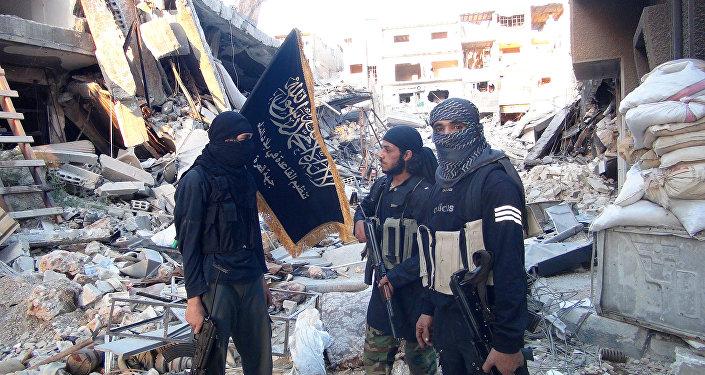 Jihadistas de Frente al-Nusra (arquivo)