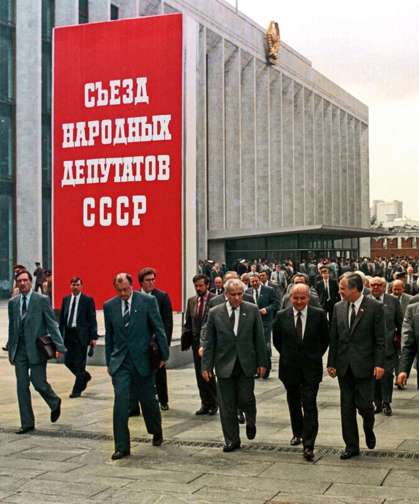 Congresso dos deputados populares da URSS
