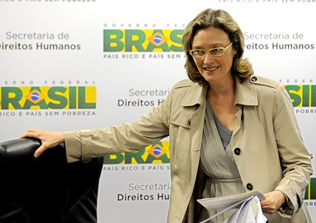 Deputada federal Maria do Rosário
