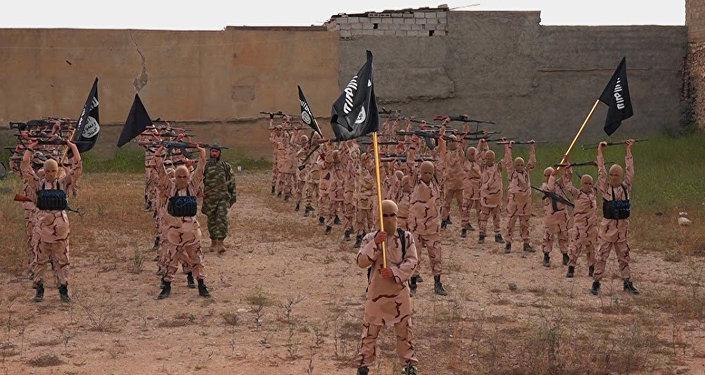 Militantes do Estado Islâmico no Iraque