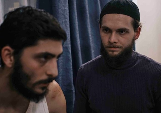 O quadro do filme turco Yolculuk(The journey)