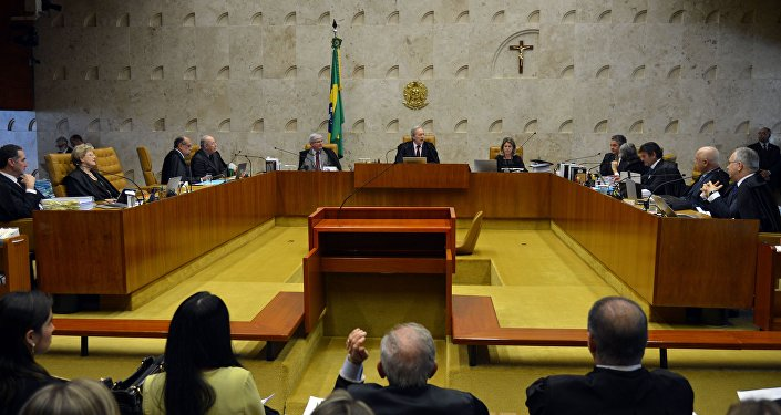 Plenário do STF analisa processos sobre impeachment da presidenta Dilma Rousseff