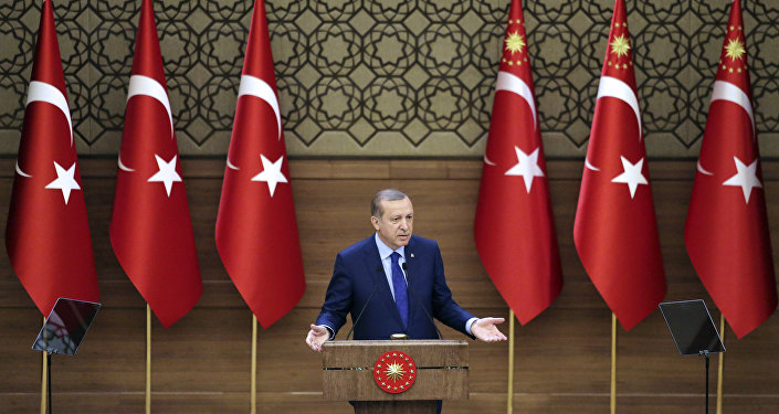 Presidente da Turquia Tayyip Erdogan
