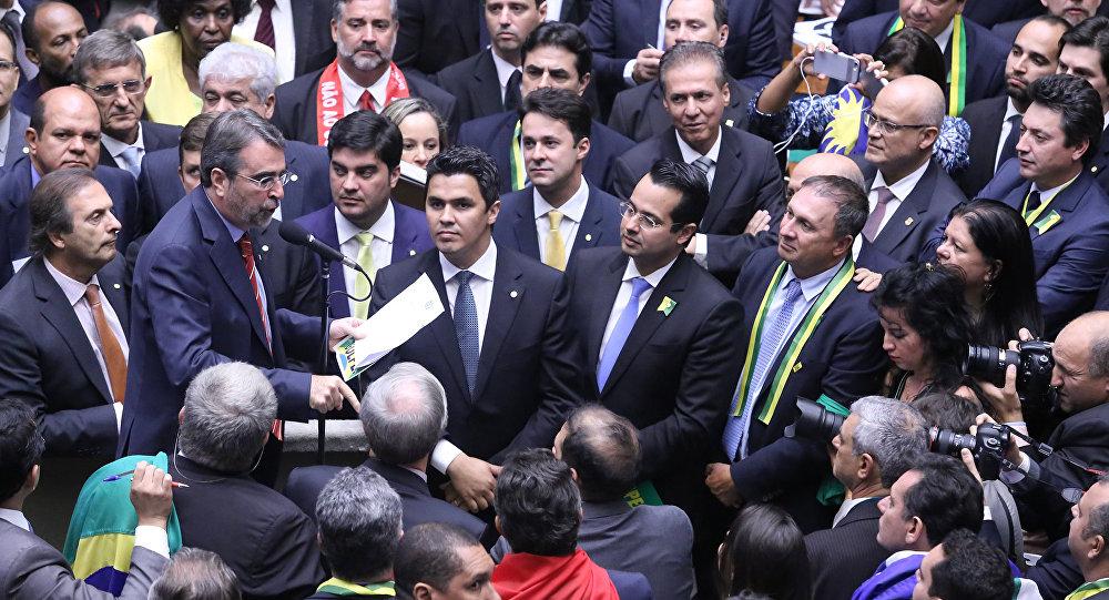Votação do impeachment na Câmara dos Deputados