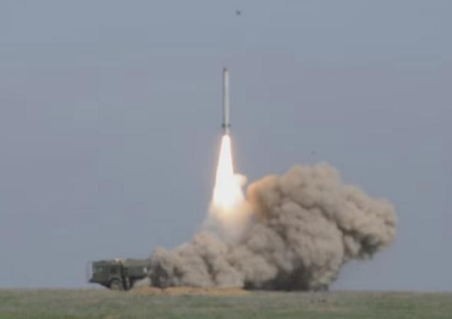 lançamento de míssil de cruzeiro Iskander-M