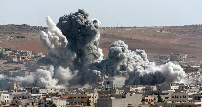 Ataques aéreos na Síria