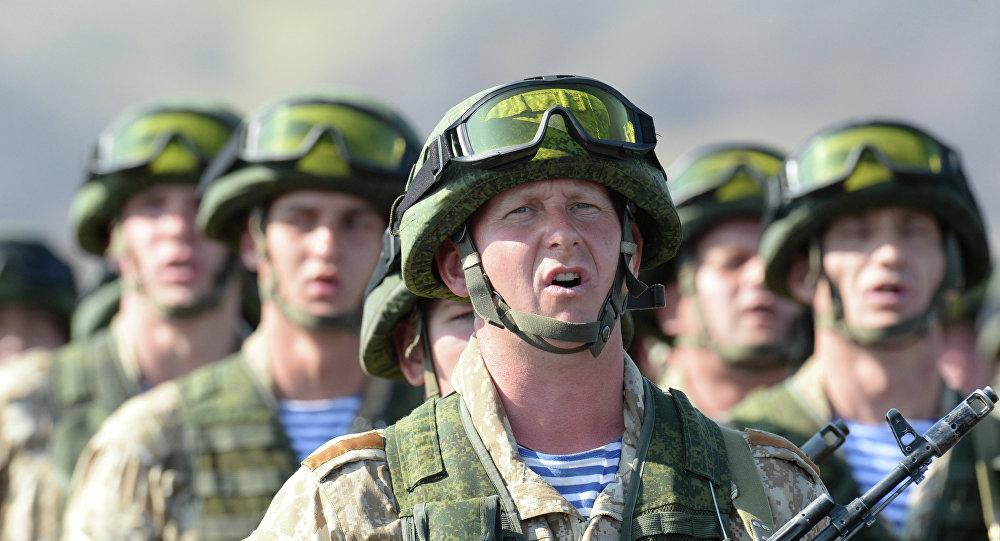 Exercícios militares conjuntos da Organização do Tratado de Segurança Coletiva (arquivo)
