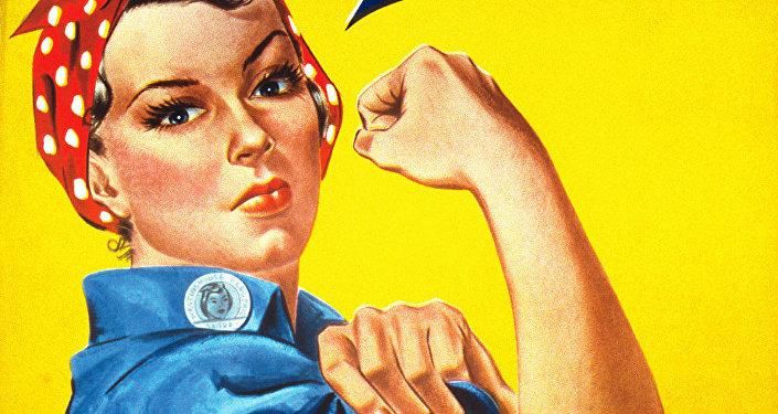 Cartaz de J.Howard Miller intitulado Nós podemos fazer isso!