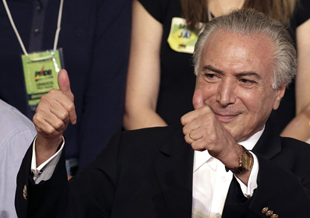 Vice-presidente do Brasil Michel Temer