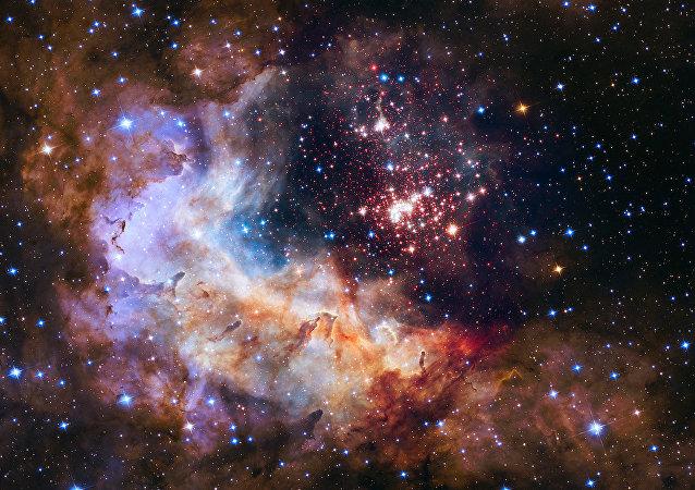 Imagem do universo divulgado pela NASA