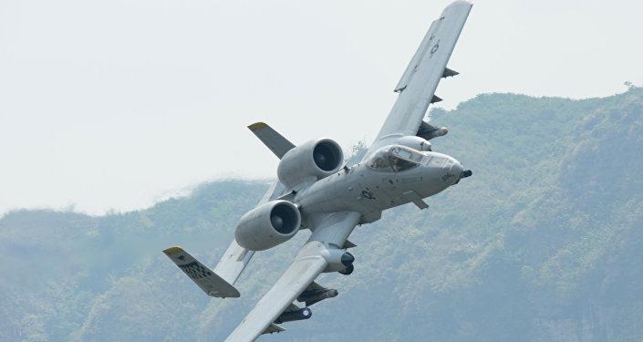 Caça-bombardeiro A-10 norte-americano
