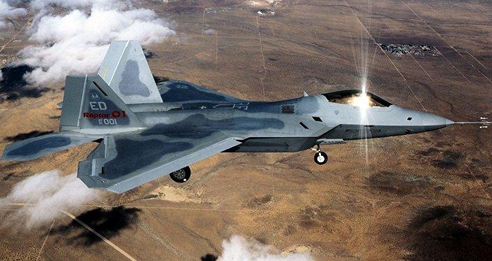 O caça F-22 Raptor