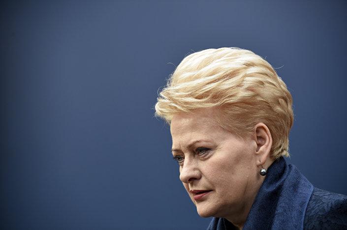 Dalia Grybauskaite - a presidente da Lituânia
