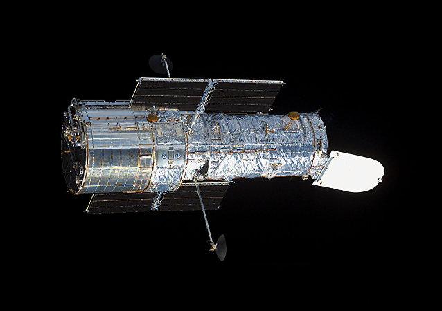 O telescópio espacial Hubble