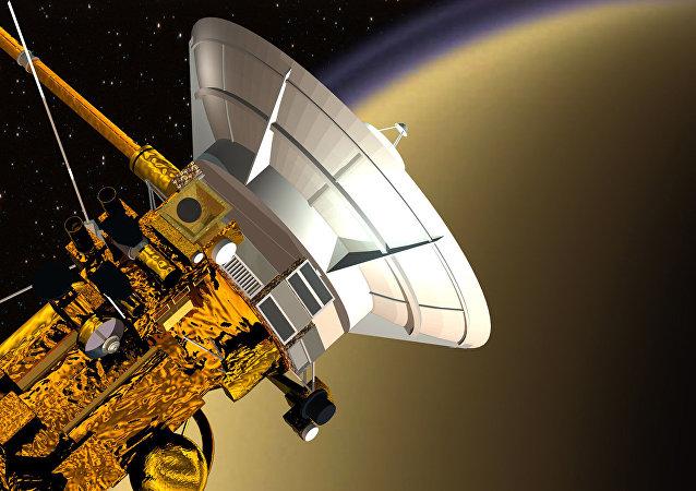 A sonda espacial Cassini-Huygens