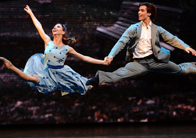 Bailarinos do Teatro Bolshoi