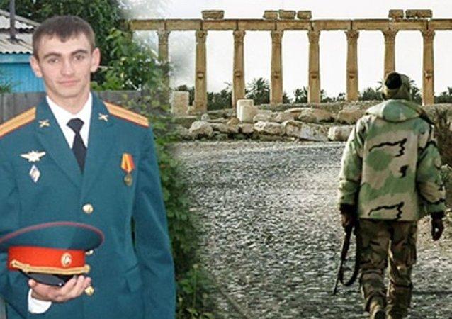 O tenente Aleksandr Prokhorenko