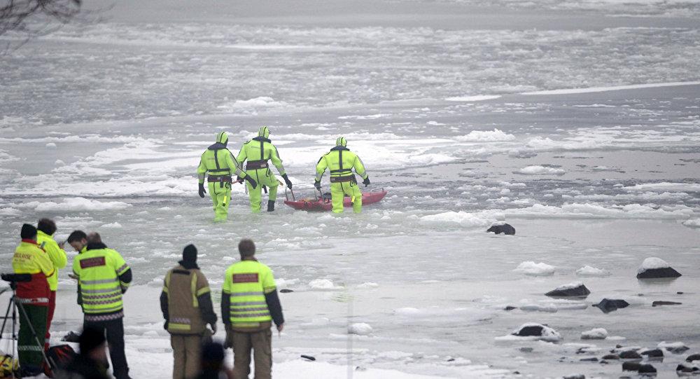 Equipe de resgate norueguês. (Arquivo)