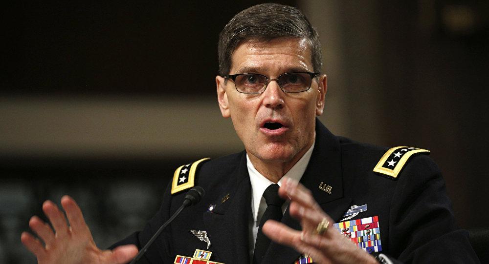 General Joseph Votel, chefe do Comando Central dos EUA