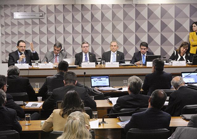 Comissão do Impeachment no Senado ouve o advogado-geral da União e os ministros da Fazenda e da Agricultura