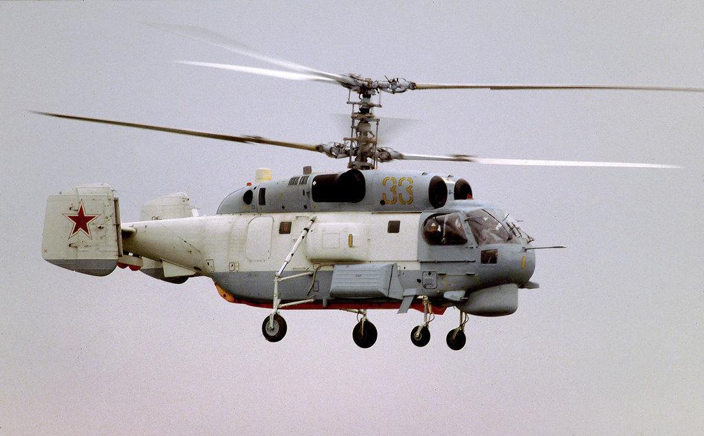 helicóptero antissubmarino Kamov Ka-27