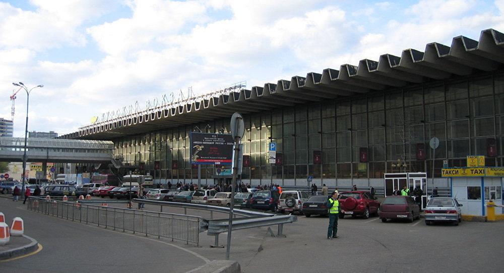 Terminal Kursky em Moscou, Rússia