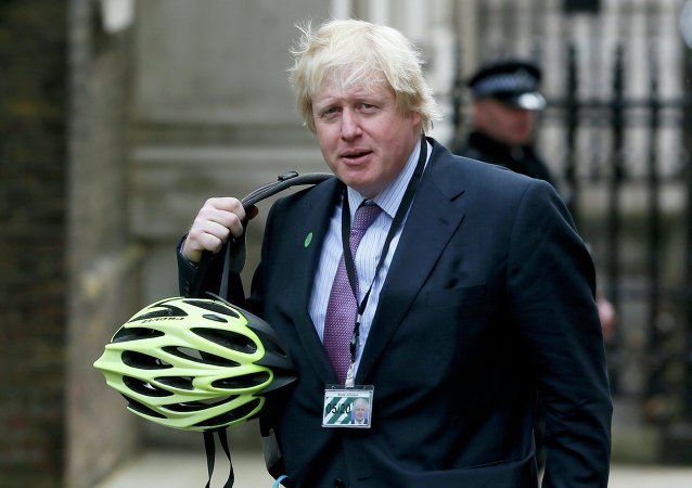 Boris Johnson, prefeito de Londres