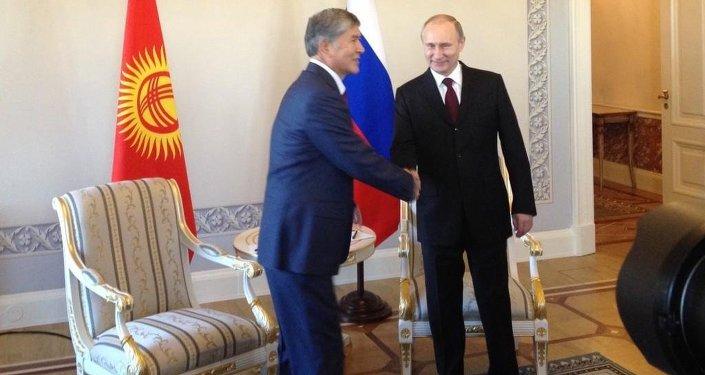 Putin and Atambayev