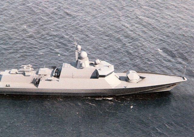 O navio de projeto 22800
