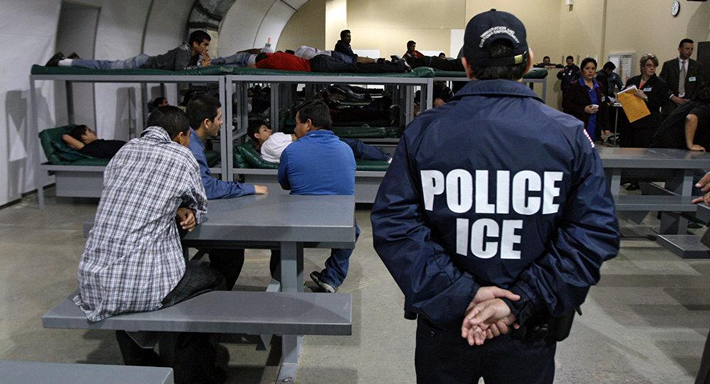 O Serviço de Imigração e Controle de Alfândegas dos EUA (ICE)