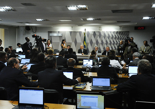 Comissão do impeachment no Senado