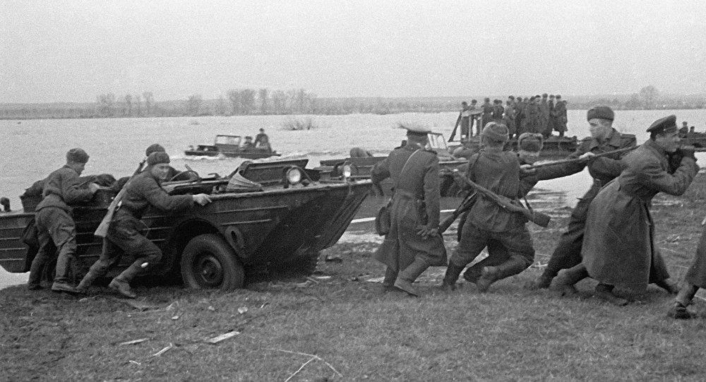 Tropas soviéticas durante a Segunda Guerra Mundial