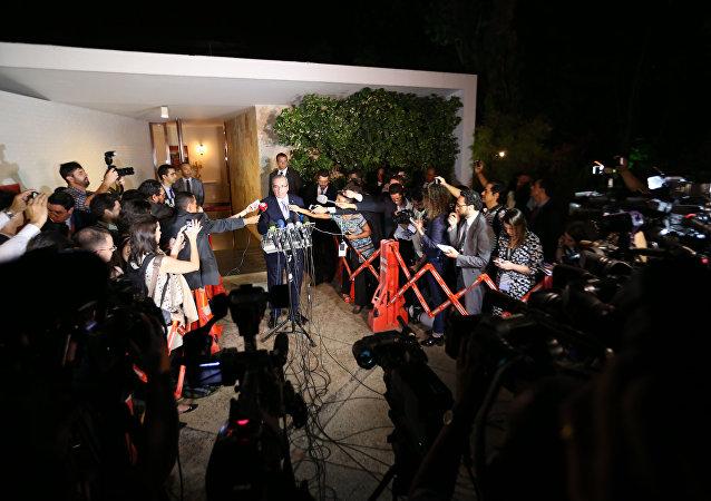 Eduardo Cunha comenta decisão do Supremo Tribunal Federal