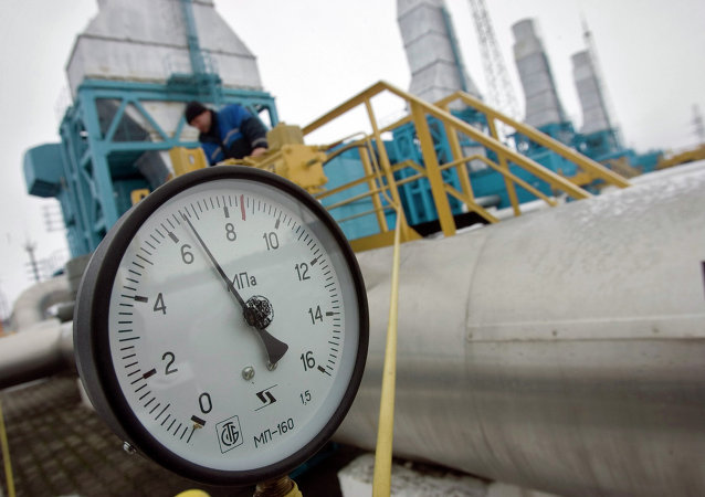 In 2014, Ukraine imported 5,1 billion cubic meters of gas from Europe, an almost 60-percent increase compared to 2013, Ukraine's gas transmission company Ukrtransgas said Monday.