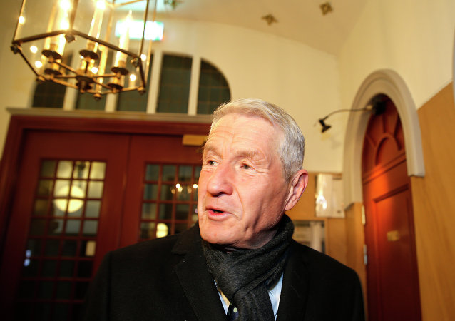 Thorbjørn Jagland, secretário-geral do Conselho da Europa e ex-primeiro-ministro da Noruega