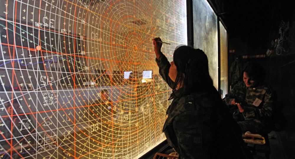 Monitoramento das forças de defesa aérea da Rússia