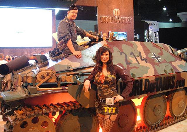 Jogadores de World of Tanks