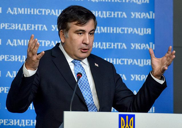 Mikheil Saakashvili. Atual governador da região de Odessa, ex-presidente da Geórgia.