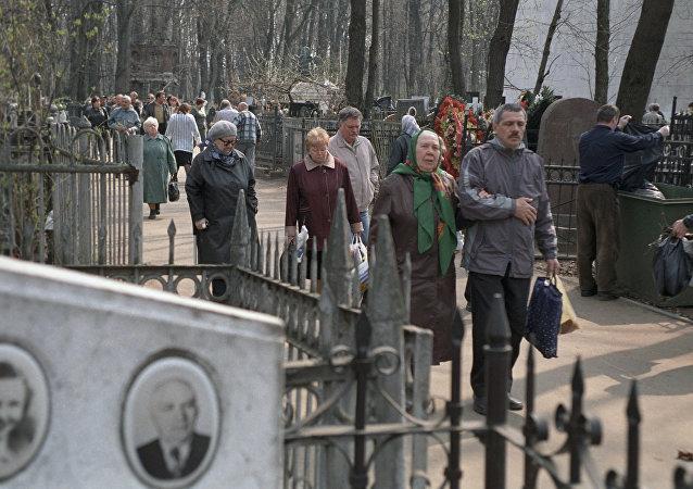 At Vagankovskoye Cemetery