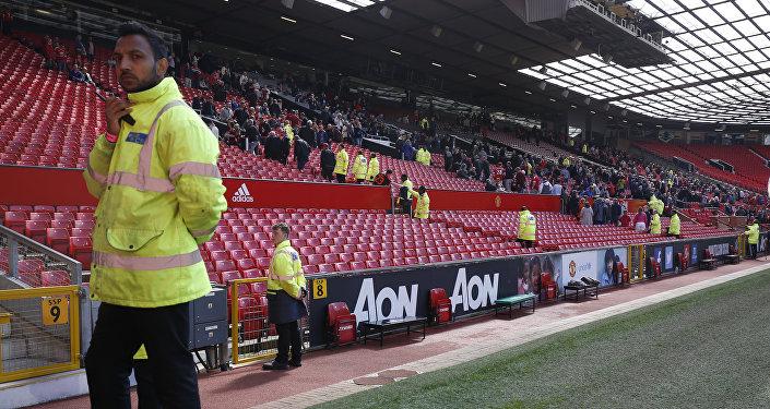 Jogo do Manchester United é cancelado por suspeita de bomba