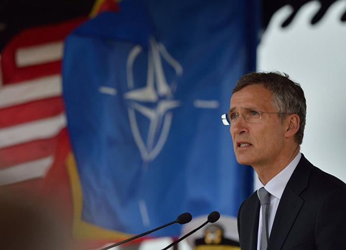 O secretário geral da OTAN, Jens Stoltenberg.