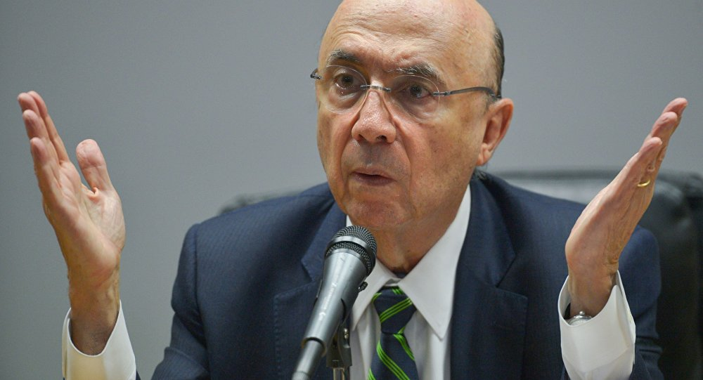 Ministro da Fazenda Henrique Meirelles apresenta nova Equipe Econômica