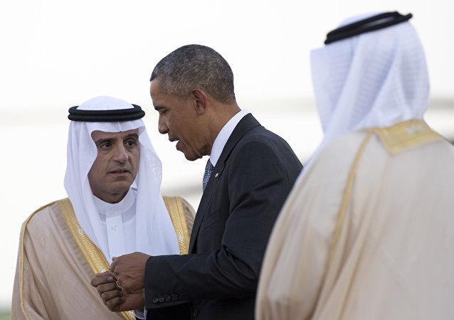 Barack Obama e Adel al-Jubeir