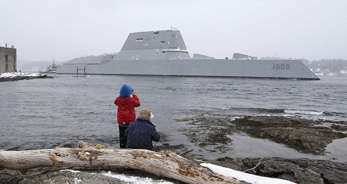 Destróier USS Zumwalt