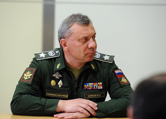 O vice-ministro da defesa Yury Borisov