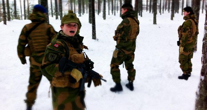 Soldados da Noruega
