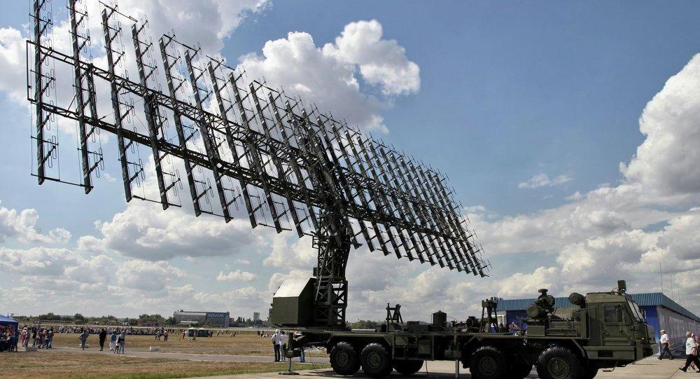Radar russo Nebo-M (foto de arquivo)