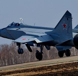 O caça russo MIG-31