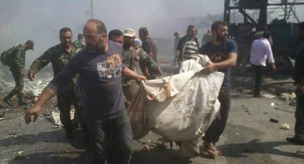 Atentado na estação de ônibus na cidade síria de Jableh